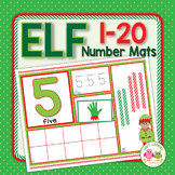 Elf Number Mats 1-20: Christmas Themed Math Concepts for P