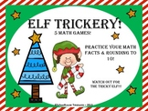 Elf Trickery - 5 Math Games!
