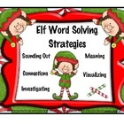 Elf Word Solving Strategies / Christmas
