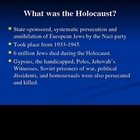 Elie Wiesel Night Historical Background