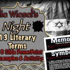 Elie Wiesel's Night: Literary Terms