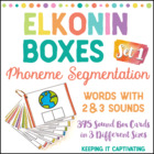 Elkonin Boxes 1 {Phoneme Segmenting}