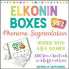 Elkonin Boxes 2 {Phoneme Segmenting}