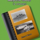 Ellis Island and Angel Island Immigration Journals (2 Journals)