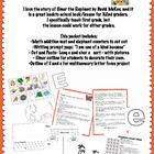 Elmer the Elephant Literacy/Math/Writing Packet