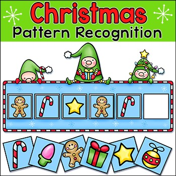 Elves Pattern Recognition Activity and Worksheets
