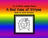 Emergency Substitute Lesson Plans First Grade (A Bad Case