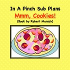 Emergency Substitute Lesson Plans First Grade (Mmm, Cookies!)