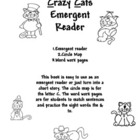 Emergent Reader - Crazy Cats