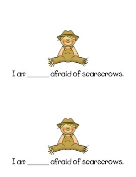 Emergent Reader - I am not afraid