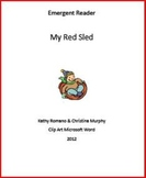 Emergent Reader: My Red Sled