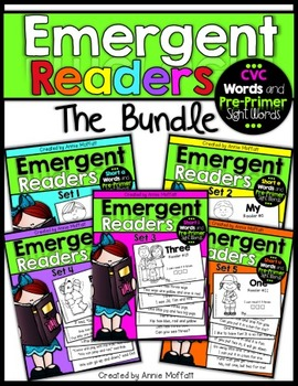 Emergent Readers Sets 1-5 (The Bundle)