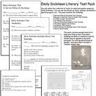 Emily Dickinson Selected Poems Tests