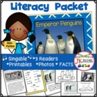 Penguins: Emperor Penguins Non-fiction Singable & Mini-Mov