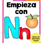 Empieza con Nn {Cut & Paste Emergent Reader}