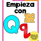 Empieza con Qq {Cut & Paste Emergent Reader}