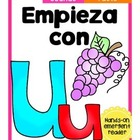Empieza con Uu {Cut & Paste Emergent Reader}