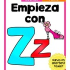 Empieza con Zz {Cut & Paste Emergent Reader}