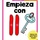Empieza con ll 2 {Cut & Paste Emergent Reader}