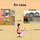 En Casa- Home and Furniture Vocabulary Spanish I