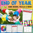 End Of Year First Grade Fun Activities and Games!