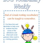 End of Grade (EOG) Vocabulary Week 1