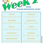 End of Grade (EOG) Vocabulary Week 2