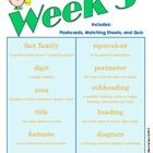 End of Grade (EOG) Vocabulary Week 3 (Common Core)
