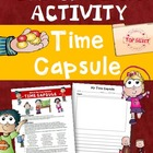 FREE End of School Year Activity: Students Create a Time Capsule