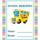 End of School Year Memory Book for elementary