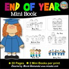 End of School Year Mini Book {My ABC Memory}