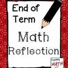 End of Term Math Reflection