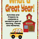 End of Year Activities,  What a Great Year!