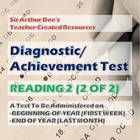 Diagnostic/Achievement Test in Reading 2 (2 of 2)