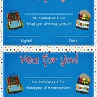 End of Year Certificate {for Kindergarten, First or Second Grade}