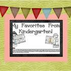 End of Year Favorites From Kindergarten Book