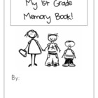 End of Year First Grade Memory Book