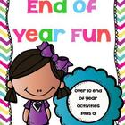 End of Year Fun