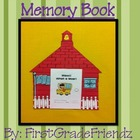 End of Year Memory Book Craftivity
