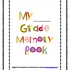 End of Year Memory Book-Cute Keepsake for Parents!!