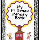 End of Year Memory Book K-3