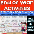 End of Year Memory Book - School Themed