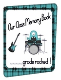 "End of Year Memory Book- ""This Year Rocked"" Theme"