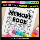 End of Year Memory Book for the Last Day of School Rock St
