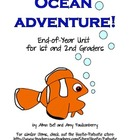 End of Year Ocean Adventure Activities for 1st and 2nd Graders