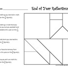 End of Year Reflections: Using Fractions