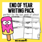 End of Year Writing Pack!