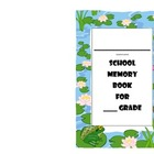 End of schoolyear memory book