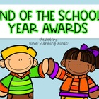 End of the School Year Student Awards {50 Awards}