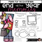 End of the Year 2nd  grade { Taking a Second Glance }